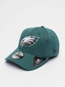 New Era Flexfitted-lippikset NFL Philadelphia Eagles Shadow Tech 39thirty vihreä