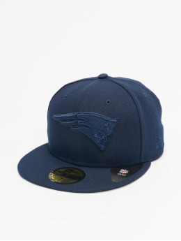 New Era Gorra plana NFL New England Patriots Tonal 59fifty azul