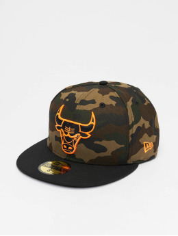 New Era Gorra plana NBA Chicago Bulls MAYSALEMTG18 59Fifty camuflaje
