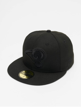 New Era Gorra plana NFL LA Rams 59Fifty negro