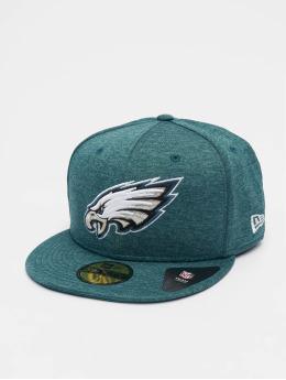 New Era Gorra plana Shadow Tech Philadelphia Eagles 59Fifty verde