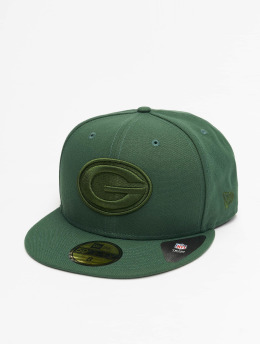 New Era Gorra plana NFL Green Bay Packers Tonal 59fifty verde
