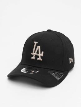 New Era Gorra Snapback MLB LA Dodgers League Essential 9Fifty  negro