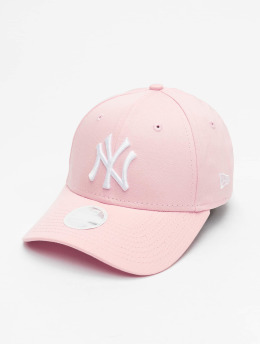 New Era Gorra Snapback MLB NY Yankees League Essential rosa