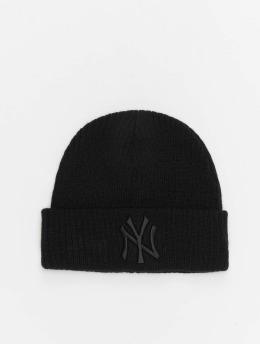New Era Hat-1 MLB NY Yankees League Essential Cuff Knit  black