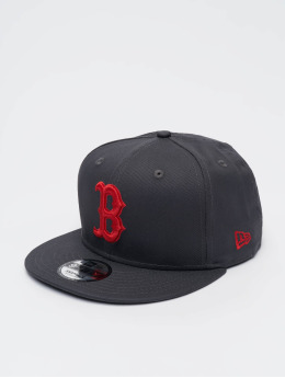 New Era Hatut MLB Boston Red Sox Snapback Cap harmaa