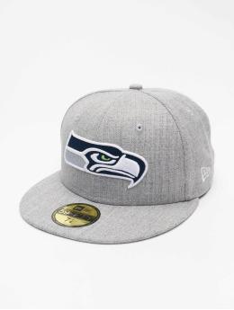 New Era Hip hop -lippikset NFL Seattle Seahawks 59Fifty harmaa