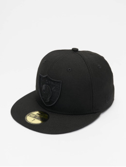 New Era Hip hop -lippikset NFL Oakland Raiders 59Fifty musta