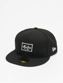 New Era Hip hop -lippikset Patch 59Fifty musta