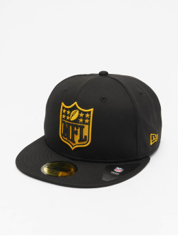 New Era Hip hop -lippikset NFL Pittsburgh Steelers 59Fifty  musta