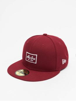 New Era Hip hop -lippikset Patch 59Fifty punainen