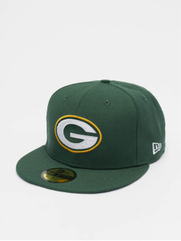 New Era Hip hop -lippikset NFL Champs Pack Green Bay 59Fifty vihreä