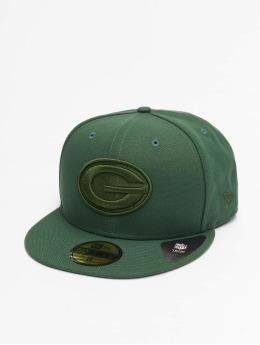 New Era Hip hop -lippikset NFL Green Bay Packers Tonal 59fifty vihreä
