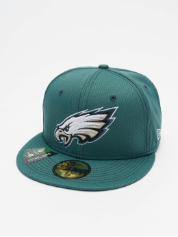 New Era Hip hop -lippikset 59Fifty Onfield 19 SL RD Philadelphia Eagles vihreä