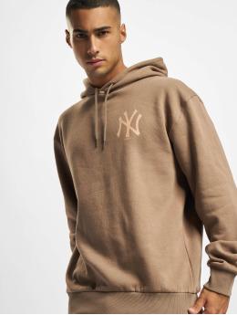 New Era Hoodie MLB NY Yankees Oversized Seasonal Color brown