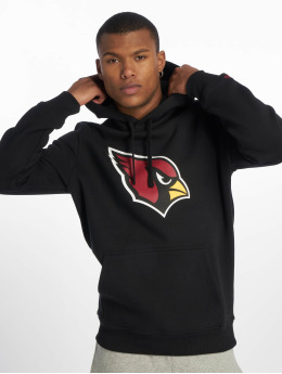 New Era Hoodies Team Arizona Cardinals Logo čern