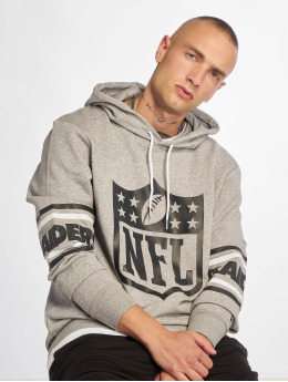 New Era Hoody NFL Oakland Raiders Badge grau