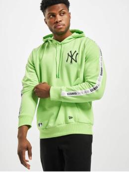 New Era Hoody MLB NY Yankees Sleeve Taping groen