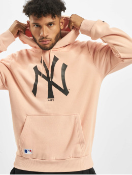 New Era Hoody NY Yankees Seasonal Team Logo rosa