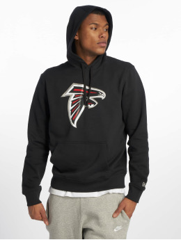 New Era Hoody Team Atlanta Falcons Logo schwarz