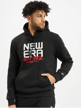 New Era Hoody Contemporary Graphic schwarz
