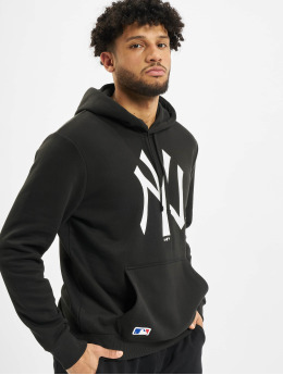 New Era Hoody MLB NY Yankees Team Logo schwarz