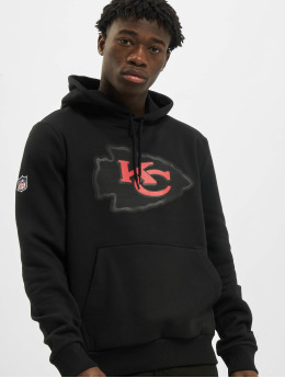New Era Hoody NFL QT Outline Graphic Kansas City Chiefs  schwarz