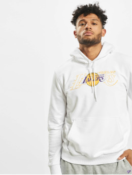 New Era Hoody NBA LA Lakers Graphic Overlap weiß