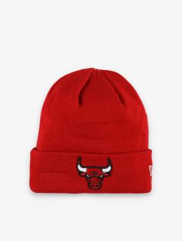 New Era Huer NBA Chicago Bulls Team Cuff Knit  rød