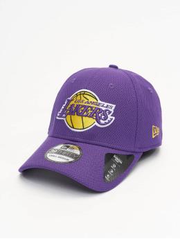 New Era Lastebilsjåfør- / flexfitted caps NBA Los Angeles Lakers Diamond Era 39thirty lilla