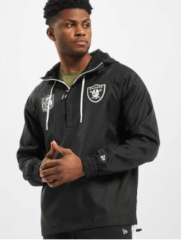 New Era Lightweight Jacket NFL Oakland Raiders black