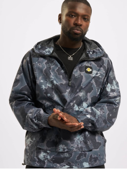 New Era Lightweight Jacket NBA Los Angeles Lakers Outdoor Utility AOP grey