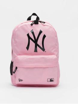 New Era Mochila MLB New York Yankees Stadium rosa