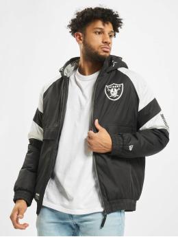 New Era Puffer Jacket NFL Oakland Raiders black