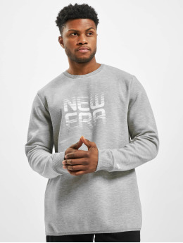New Era Pullover Technical  grau