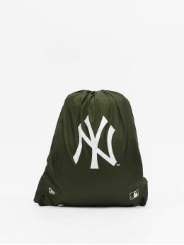 New Era Sac à cordons MLB New York Yankees olive
