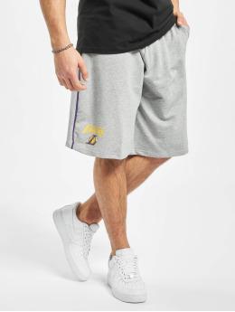 New Era Shorts NBA LA Lakers Piping grau