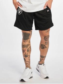 New Era Shorts Oakland Raiders schwarz