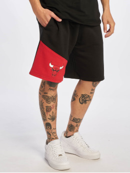 New Era Shorts NBA Chicago Bulls Colour Block schwarz