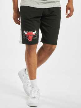 New Era Shorts NBA Chicago Bulls Graphic Overlap schwarz