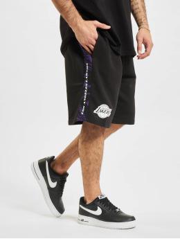 New Era Shorts NBA Los Angeles Lakers Print Panel  schwarz