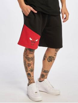 New Era shorts NBA Chicago Bulls Colour Block zwart