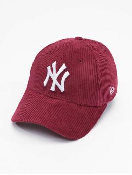 New Era Snapback MLB New York Yankees Womens Fashion Cord  èervená