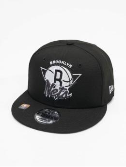 New Era Snapback NBA Brooklyn Nets NBA21 Tip Off 9Fifty  èierna