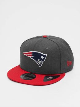 New Era Snapback NFL Heather New England Patriots 9Fifty šedá