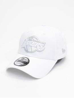 New Era Snapback Nba Properties Los Angeles Lakers Ne Metallic Logo 9forty biela