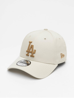 New Era Snapback Cap MLB LA Dodgers 9Forty League Essential beige