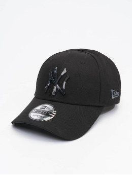 New Era Snapback Cap Mlb Properties New York Yankees Camo Infill 9forty black