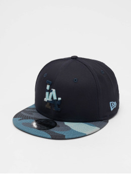 New Era Snapback Cap MLB Camo Essential LA Dodgers 9Fifty blau