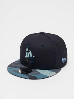 New Era Snapback Cap MLB Camo Essential LA Dodgers 9Fifty blau